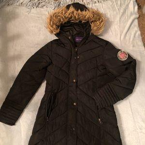 Madden Girl Ankle Length Winter Coat